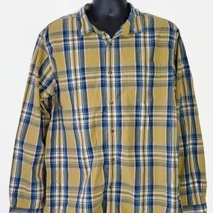 The North Face Button Front Plaid Shirt
